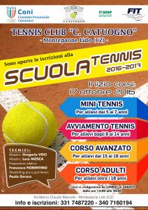 Scuola tennis Montepaone Lido
